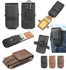 Vertical Belt Clip ID Card Slot Case Holster For Apple iPhone 5s/SE/6/6s/7 Plus