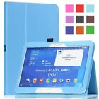 For Samsung Galaxy Tab 4 10.1 10 Inch Folio Slim Case Cover Stand SM-T530