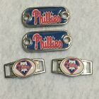 2~Philadelphia Phillies MLB Paracord Charms Oval or Mini Dog Tag shoelace charms on Ebay