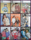 Sirdar Knitting Patterns Childs Sweaters Cardigans - Choose from Drop-down Menu