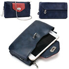 Womens Fashion Smart-Phone Wallet Case Cover & Crossbody Purse EI64-33