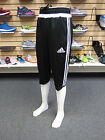 NEW ADIDAS Tiro 15 Three-Quarter Men's Pants - Black/White; M64027