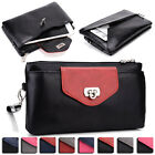 Womens Fashion Smart-Phone Wallet Case Cover & Evening Purse EI64-41