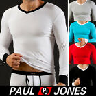 New Sexy Men Regular Thermal Underwear Long Sleeve T-Shirt Top Casual Fit Shirts