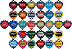 NFL Pet Id Tag for Dogs & Cats Personalized w/ Your Pet's Name and Number $9.87 USD on eBay