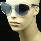Sunglasses retro vintage fashion style lady women new plastic frame lens