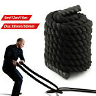 9m 12m 15m Battle Power Rope Battling Exercise Fitness Bootcamp Training Gym UK