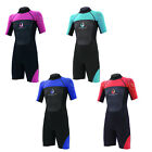 eb8a28383f1 Legacy 3 2mm Childs Kids Junior Teenage Shortie Wetsuit Short Wet Suit Age  4-16