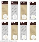 Anitas Peel Off Outline VERSE Stickers Gold Silver - Cards Birthday Baby Wedding