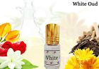 WHITE OUDH NO.1, Traditional Indian Attar Concentrat Perfume Oil Free of Alcohol