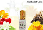 MUKHALLAT GOLD Traditional Indian Attar Concentrated Perfume Oil Free Of Alcohol