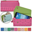 Convertible Aztec Smart-Phone Wallet Case Cover & Evening Clutch XLUC18