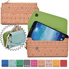 Convertible Aztec Smart-Phone Wallet Case Cover & Evening Clutch MLUC16