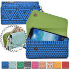 Convertible Aztec Smart-Phone Wallet Case Cover & Evening Clutch XLUC28