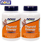 NOW Foods Thyroid Energy 180 Capsules Metabolism Support Wei