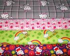 HELLO KITTY #3  FABRICS Sold INDIVIDUALLY NOT AS A GROUP By the HALF YARD