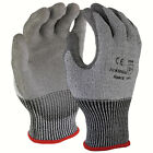 SDI 12 Pairs 13 Gauge HPPE Cut Resistant Polyurethane Palm Coated Glove Gray New
