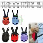 Dog Cat Nylon Pet Puppy Dog Carrier Backpack Front Tote Carrier Net Bag S M L