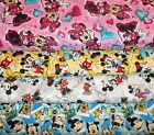 MICKEY MOUSE #6  FABRICS Sold INDIVIDUALLY NOT AS A GROUP By the HALF YARD