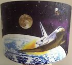 Space Shuttle Lampshade lamp shade boys girls space travel  Free Gift