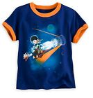 Disney Store Miles from Tomorrowland Boys Blue T Shirt Tee Size 4 NWT