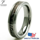 Tungsten Carbide Forest Woods Camouflage Wedding Band Ring 5MM | FREE ENGRAVING image