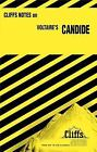 Candide by Francois Marie Arouet  Paperback) Cliffs Notes ** VERY GOOD