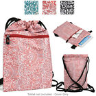 6 - 8 inch Tablet Paisley Protective Drawstring Backpack Case Cover BG10P2B2-6