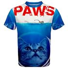 New PAWS Movie PARODY Funny Sublimation Mens T-Shirt Size XS-3XL Free Shipping
