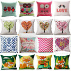 Nature scenery Cotton Linen Pillow Cover Sofa Cushion Cover Home Decor