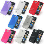 Gel TPU Skin Case Cover For HTC Desire 300 Zara Mini