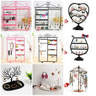 chain holder - Earrings Ear Studs Necklace Chain Jewelry Display Holder Stand Organizer Rack