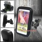 Water Resistant Bicycle Bike Mount Phone Holder Zipper Case For LG Model