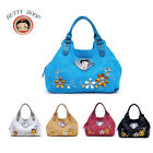 New Betty Boop® Women Leather Satchel Handbag Hobo Tote Shoulder Bag Day Purse $15.99 CAD