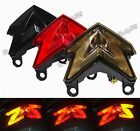 Led Light-Guide Tail Turn Signals Integrated Light Fit 13-16 KAWASAKI ZX-6R Z800