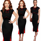 Elegant New Women's Bodycon Business Party Evening Ruched Long Midi Pencil Dress