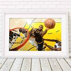 LEBRON JAMES - NBA Basketball Poster Picture Print Sizes A5 to A0 *FREE DELIVERY on eBay