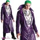SUICIDE SQUAD THE JOKER ADULT MENS COSPLAY BATMAN DC COMICS FANCY DRESS COSTUME
