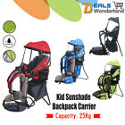 Xtelary Baby Backpack Carrier w/ Stand Child Kid toddler Sun/Rain canopy Shield