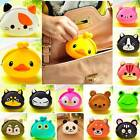 Wallet Kawaii Womens'/Girls' Gift Cartoon Animal Silicone Jelly Coin Purse New Q