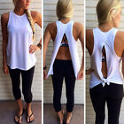 Fashion New Womens Ladies Vest Top Sleeveless Blouse Casual Tank Tops T-Shirt