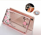 New Bling Crystal Diamond Butterfly Floral Soft TPU Case Cover For Mobile Phones