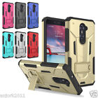 Rugged Shockproof Case Dual Layer w/Stand Cover for ZTE Max Duo LTE Z963VL Z962G