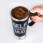 Stainless Lazy Self Stirring Mug Auto Mixing Tea Coffee Cup Office Home Gift