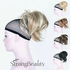 Ponytail Clip-on Short straight ponytail Extensions hair Hairpiece