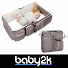 Delta Baby Travel Light 2 in 1 Travel Bag Carrycot Cot Changing Station BNWT