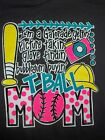 Hot Gift Southern Chics T Ball Mom Glove Findin Baseball Girlie Bright T Shirt