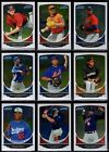 2013 Bowman Chrome Prospect Prospects You Pick the Player A Finish Your Set