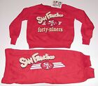 Vintage 90s CHILDS San Francisco 49ers Sweatshirt & Pants SET NWT NEWOldStock 4T