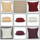 Cushion Covers Cotton Throw Pillow Case Sofa Home Decor Linen Bed Car New